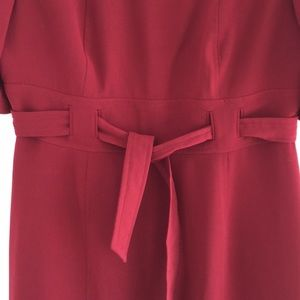 Leslie Faye cherry dress with brooch size 12